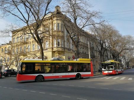В Одессе в Пасхальную ночь городской транспорт ходить не будет