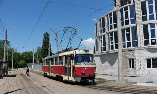 В Одессе будут расширять кольцо трамвая на Большом Фонтане