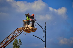 Реконструкция спуска Маринеско в Одессе продолжается (ФОТО)