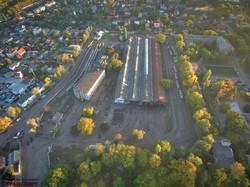 Как выглядит с высоты птичьего полета старое депо трамвая в Одессе на Слободке (ФОТО, ВИДЕО)