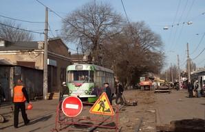 В Одессе начинают ремонт Новощепного Ряда: как будет ходить транспорт