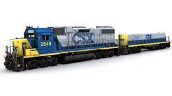 Локомотивы «большой восьмёрки»  железных дорог США в 2013 году