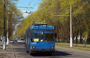В Одессе троллейбус пойдет по проспекту Небесной Сотни к вокзалу