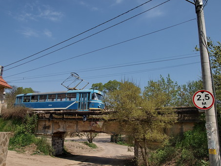 В Одессе начинается реконструкция конечной трамвая на 16-й станции Фонтана