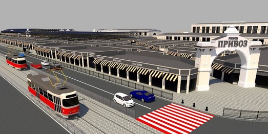 Как будет выглядеть Новощепной Ряд после реконструкции за почти 158 миллионов (ФОТО, ВИДЕО)