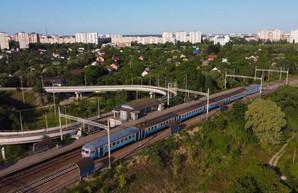 Как в Киеве запустили городскую электричку