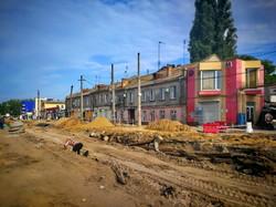 Реконструкция Новощепного Ряда в Одессе: что успели сделать за месяц (ФОТО)