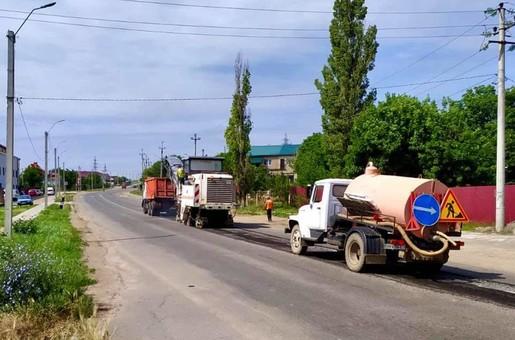 Начался ремонт дороги из Одессы в Затоку и Белгород-Днестровский