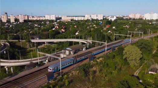 Восстанавливают еще 10 электричек в окрестностях Киева