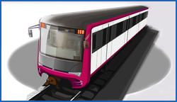 Как выглядит новая модель поезда метро Крюковского завода