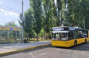 В Николаеве испытали новую линию троллейбуса на Намыв (ФОТО)
