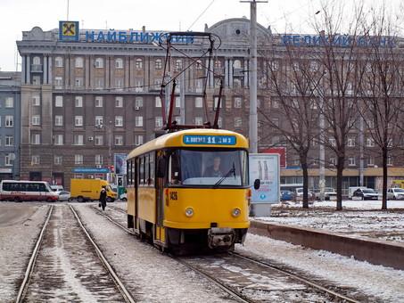 В Днепре закупят очередную партию из двух десятков подержанных трамваев