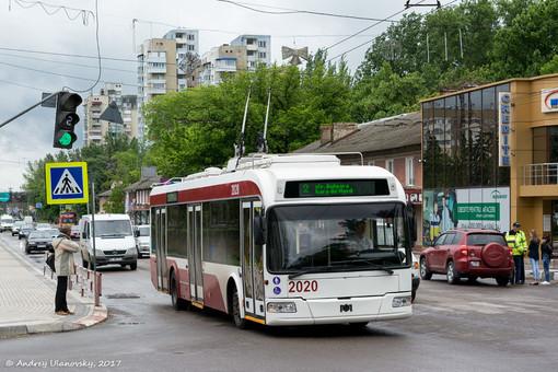 Молдавский город Бельцы закупает троллейбусы украинской сборки