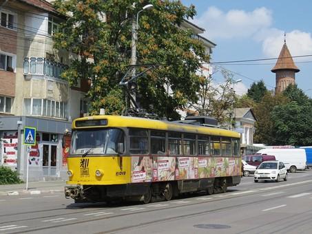В румынском городе Ботошани закрывают трамвай