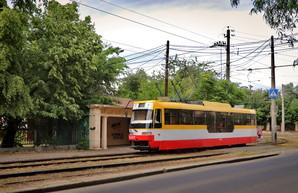 В Одессе временно сокращают маршрут трамвая на Большой Фонтан