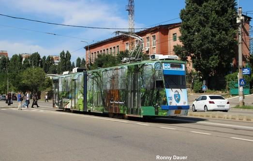 Украинская компания выиграла тендер на поставку трамваев в румынский город Крайова