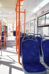 """В Запорожье запустили первый новый трамвай по образцу одесского """"Одиссея"""" (ФОТО)"""