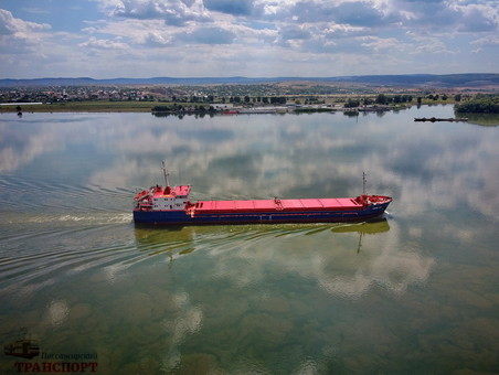 Паромная переправа через Дунай начала работу (ФОТО, ВИДЕО)