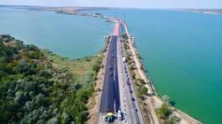 Мост через Хаджибейский лиман по трассе Одесса - Киев готовят к запуску движения по отремонтированному пролету