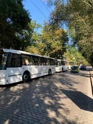 В Одессе популярный маршрут на поселок Котовского укомплектовали большими автобусами