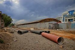 Как ремонтируют Новощепной Ряд в Одессе (ФОТО)