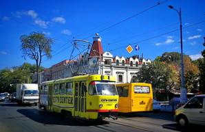 В Одессе снова обещают выделить трамвайные пути в центре города