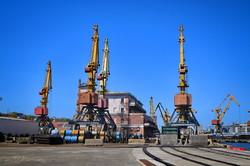 В Одессе показали президенту первую очередь реконструированного причала в порту (ФОТО, ВИДЕО)