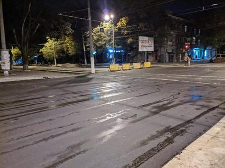 В Одессе открыли движение по перекрестку Канатной и Семинарской
