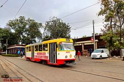 В Одессе запустили юбилейный трамвай-галерею (ФОТО)