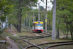 В Одессе из-за карантина увеличили количество  трамваев и автобусов на маршрутах (ФОТО)