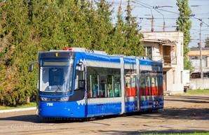 В Киеве на левобережной части города появились польские трамваи (ФОТО)