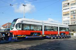 В Хорватии изготовили первые трамваи для латвийской Лиепаи