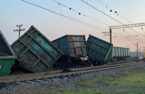 Под Кривым Рогом произошла железнодорожная авария из-за диверсии (ФОТО)