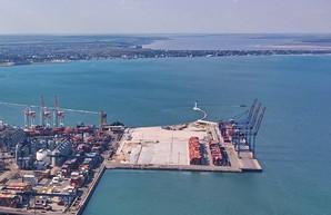 В Одесском порту закончили четвертую очередь нового контейнерного терминала