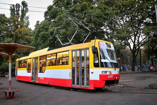В Одессе временно сокращают маршрут трамвая №12