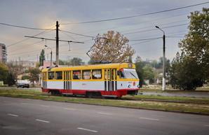 В Одессе начали увеличивать число сидячих мест в трамваях