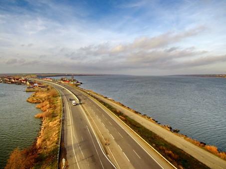Мост через Хаджибейский лиман на трассе Одесса - Киев становится дороже