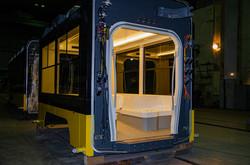 """Компания """"Татра-Юг"""" показала низкопольный трамвай, с которым участвует в тендерах для Одессы и Киева"""