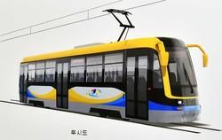 В северокорейском городе Вонсан построили кольцевую линию трамвая