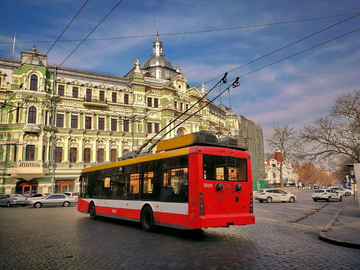 В Одессе возобновилась работа троллейбуса №2