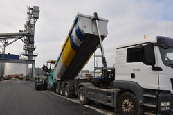 В АМПУ рассказали о почти полной готовности обновленного причала в порту Одессы (ФОТО)