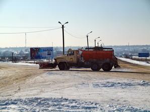 В Одесской области дороги уже расчищают от снега