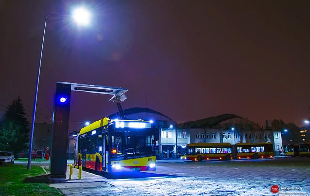 В Варшаву поступила крупная партия электробусов