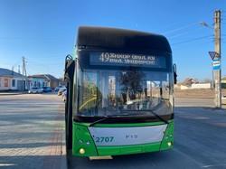 """В Харькове запустили """"автономные"""" маршруты троллейбуса"""