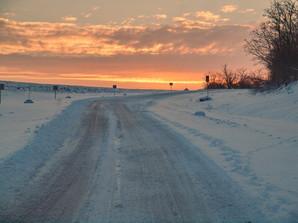 Дороги Одесской области чистят от льда
