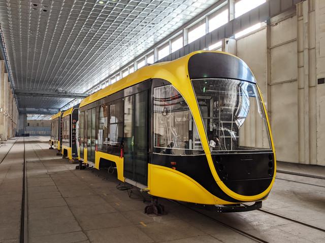 """Низкопольный трамвай от """"Татра-Юг"""" уже почти готов к испытаниям"""