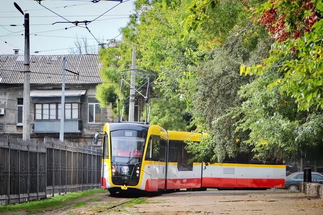 В Одессе отменили тендер на закупку низкопольных трамваев по кредиту ЕИБ