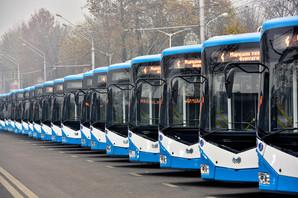 """В столицу Таджикистана закупили 100 новых троллейбусов """"БКМ"""""""