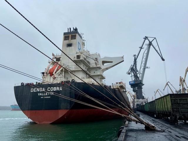 """В порту Южный обрабатывают одновременно три """"кейпсайза"""""""