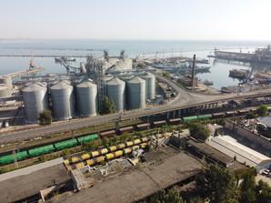 Падение грузопотока в портах Украины за 2020 год составило менее 1%